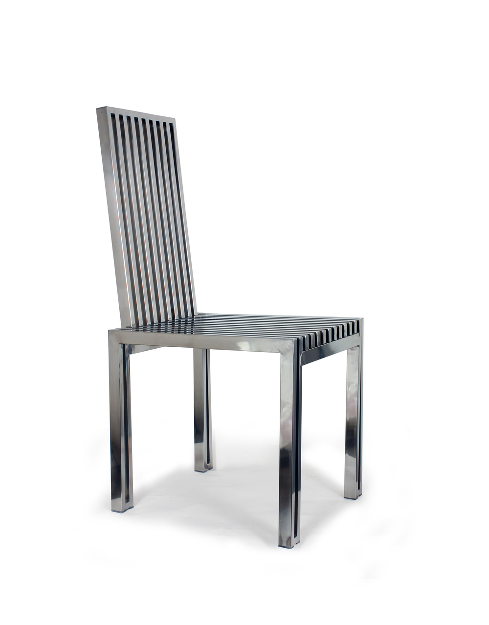 Control Brand - Polished SS Dining Chair