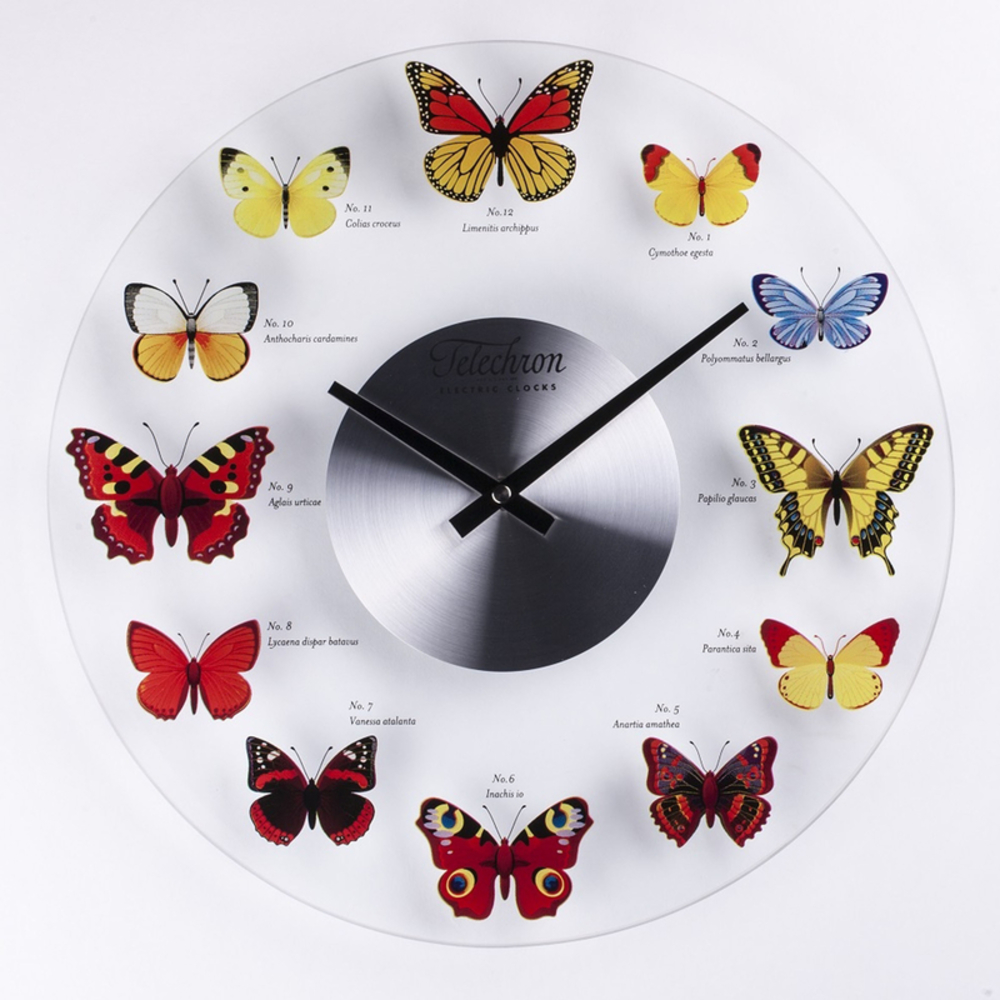 Control Brand - Butterfly Clock