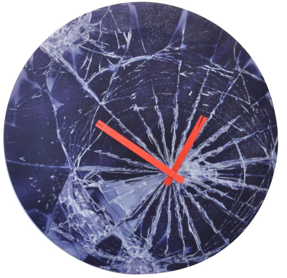 Control Brand - Crash Wall Clock