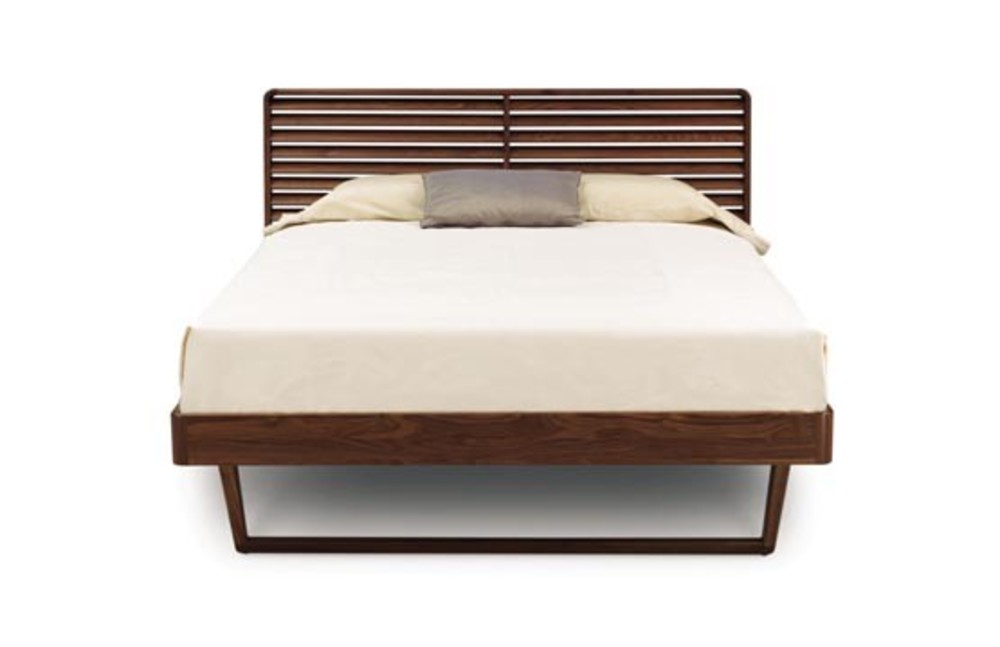 Copeland Furniture - Contour Queen Bed w/out Shelf Nightstands