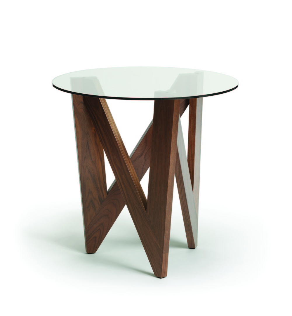 Copeland Furniture - Statements Check Round End Table