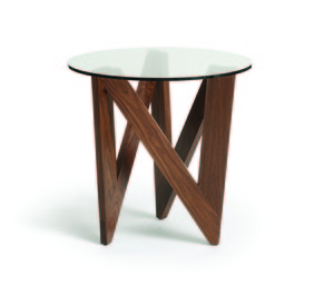 Thumbnail of Copeland Furniture - Statements Check Round End Table