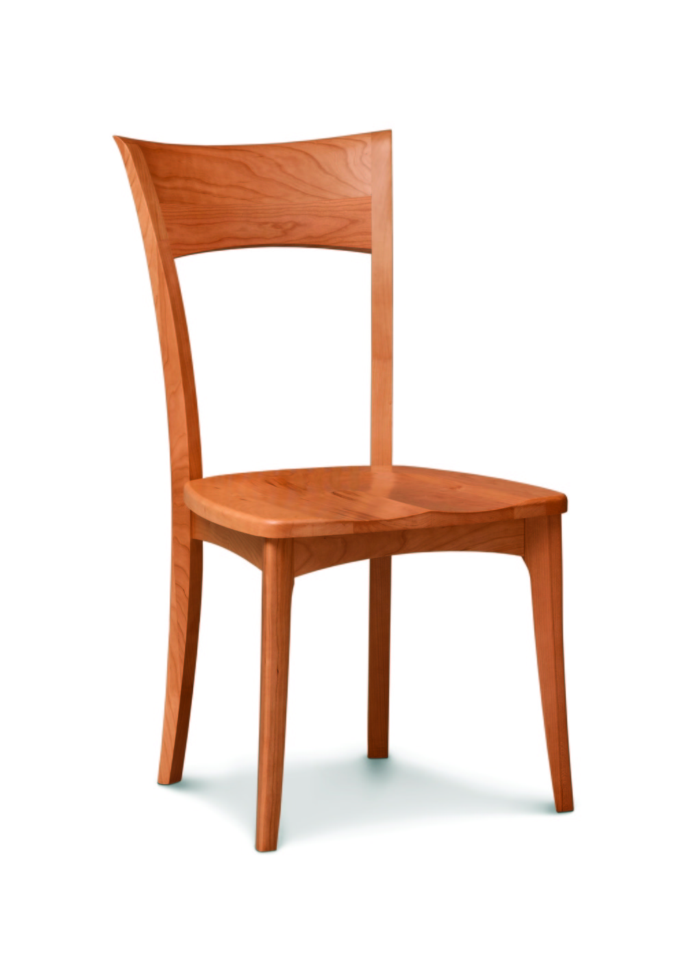 Copeland Furniture - Ingrid Side Chair with Wood Seat