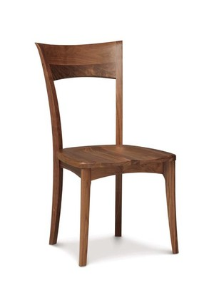 Thumbnail of Copeland Furniture - Ingrid Side Chair with Wood Seat