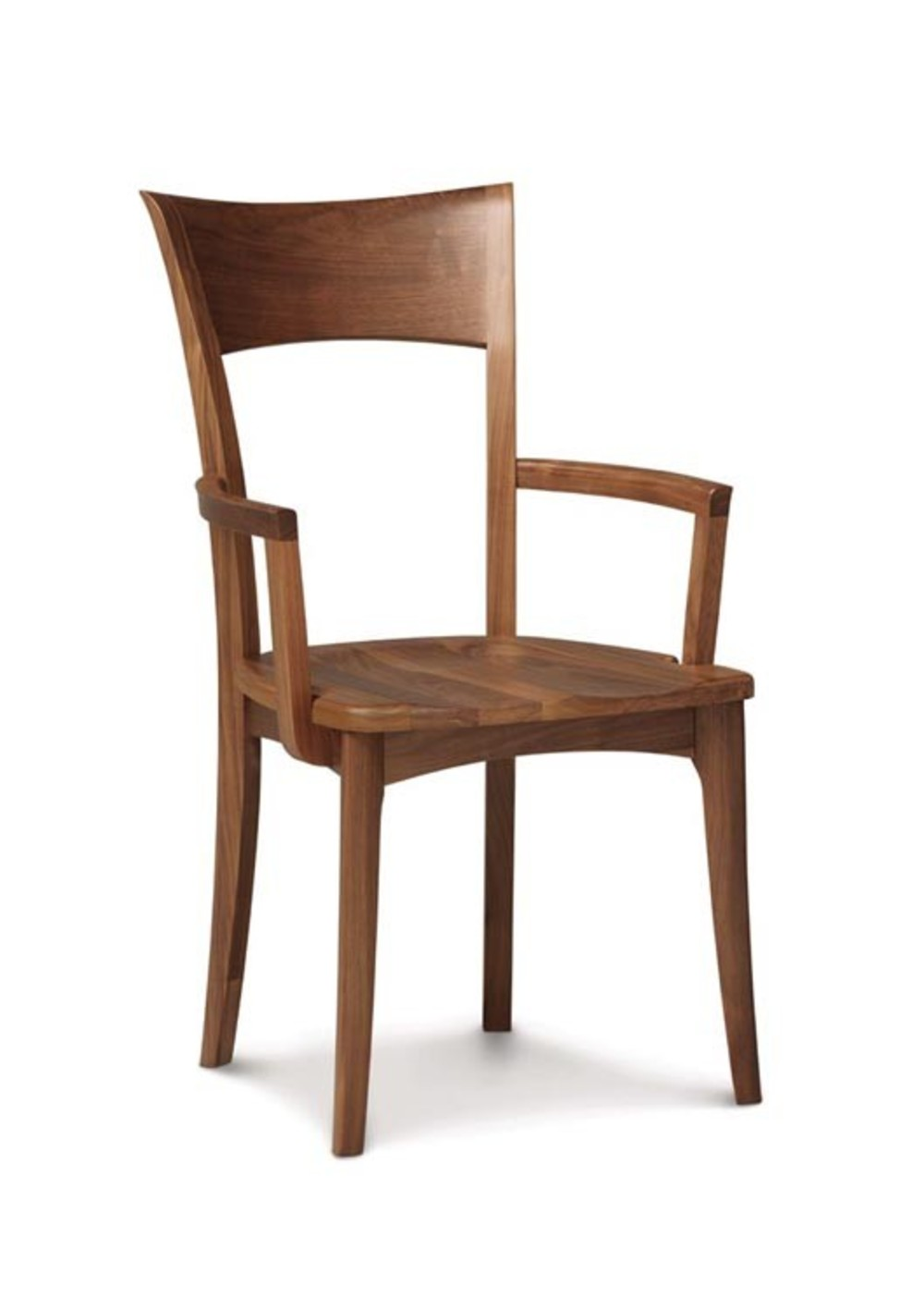 Copeland Furniture - Ingrid Arm Chair with Wood Seat