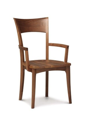 Thumbnail of Copeland Furniture - Ingrid Arm Chair with Wood Seat
