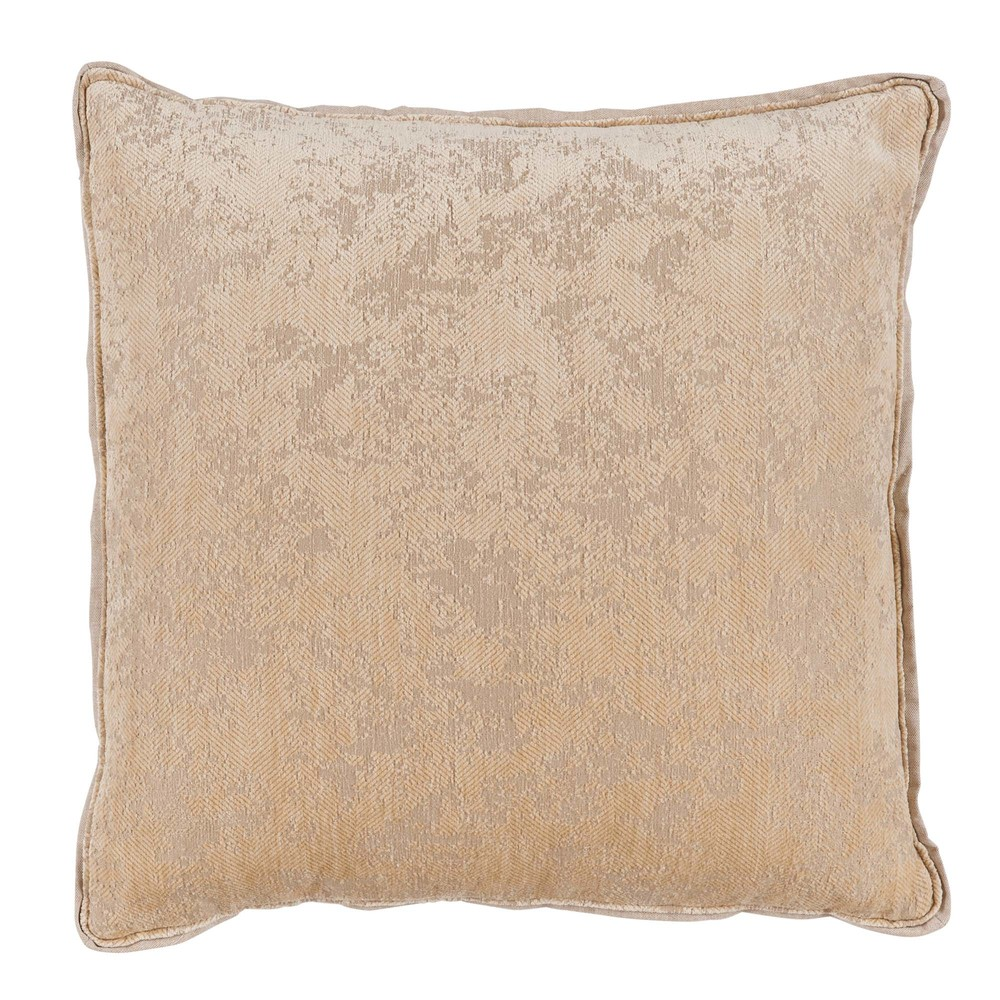 Lacefield Designs - Medici Parchment??Antiqued Chenille Throw Pillow