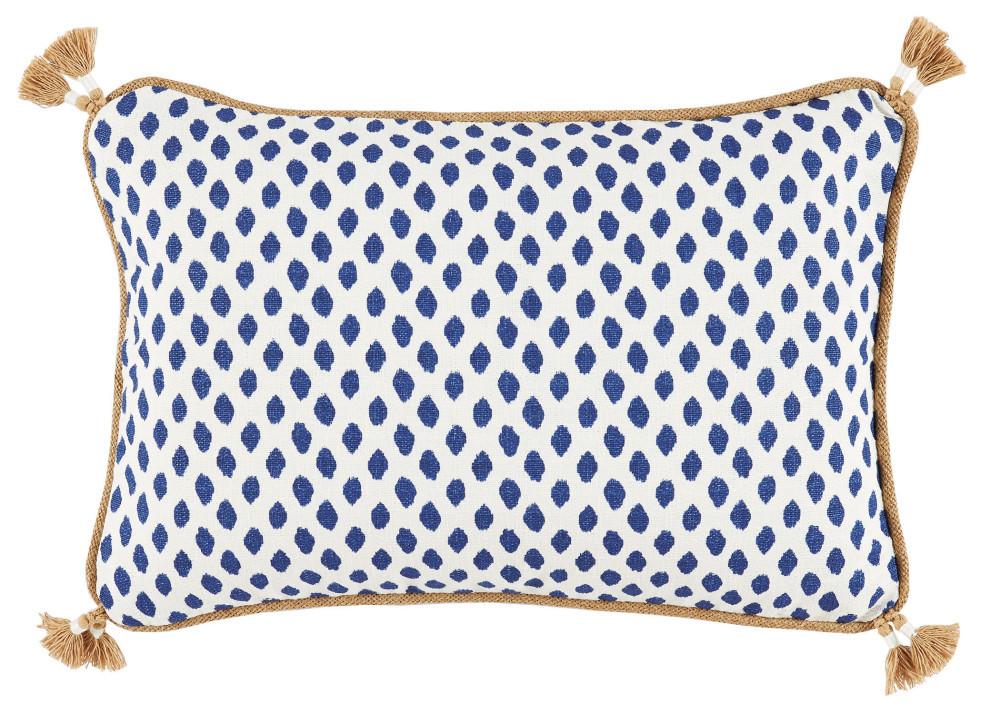 Lacefield Designs - Sahara Midnight With Tassels – Lumbar