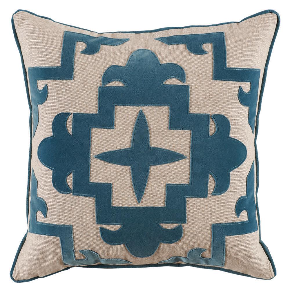 Lacefield Designs - Sultana Appliqué Glass Velvet/Heavy Basket