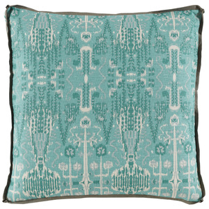 Thumbnail of Lacefield Designs - Bombay Mist W/ Trellis Mist Gusset & Stone Linen Flange