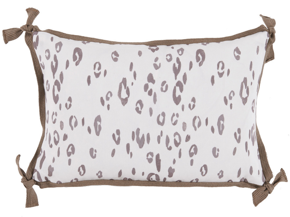 Lacefield Designs - Leopard Taupe W/ Taupe Flange