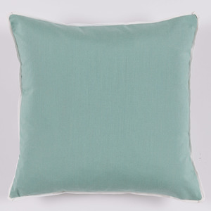 Thumbnail of Lacefield Designs - Mint Taupe Floral Medallion Outdoor Pillow