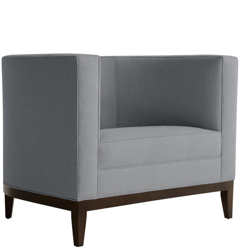Van Peursem - Curved Club Chair