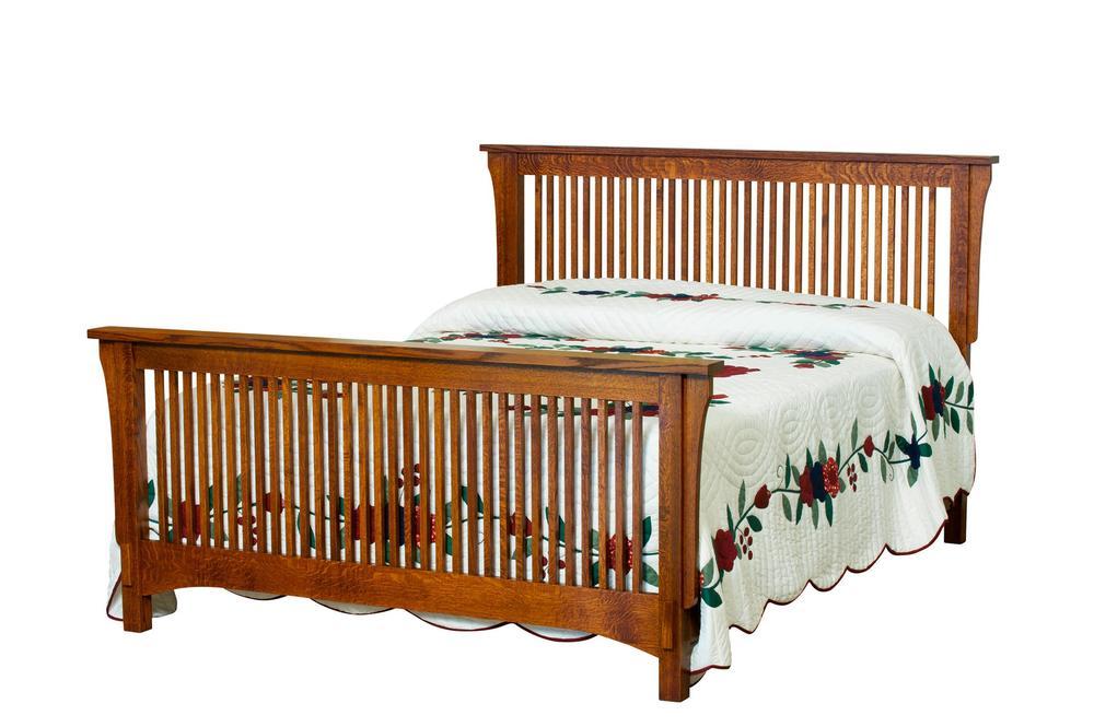 Borkholder Furniture - Spindle Queen Bed