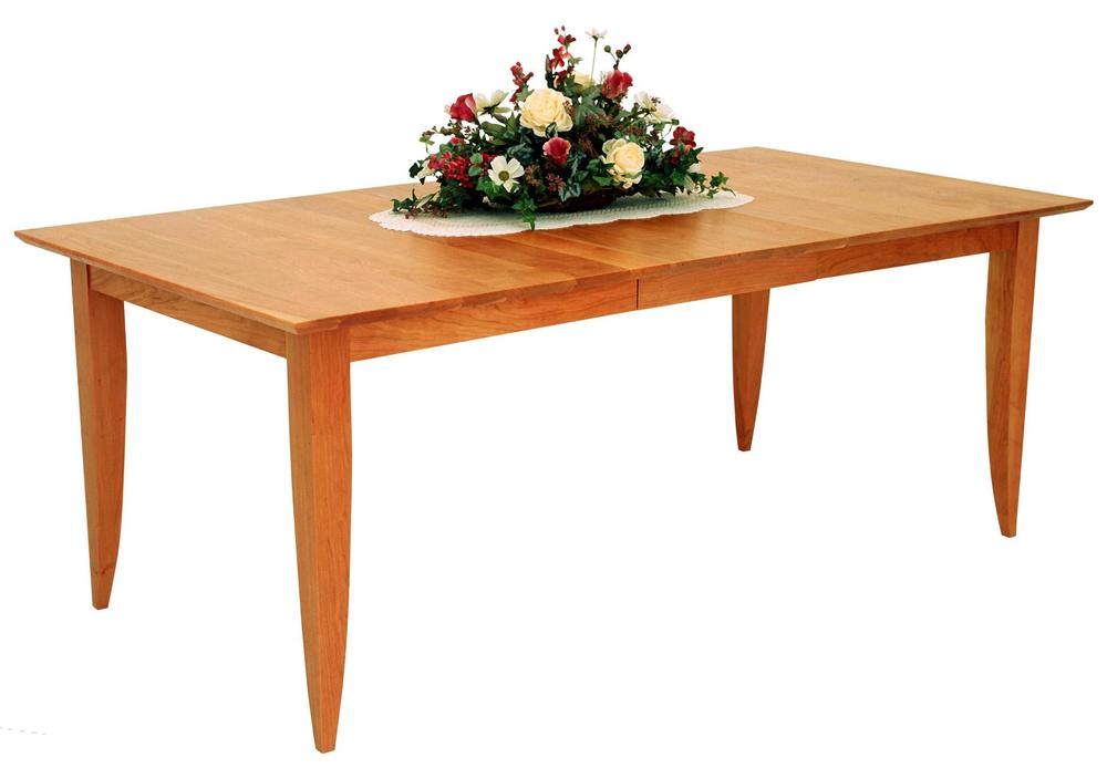 Borkholder Furniture - Table with One Leaf, Aproned