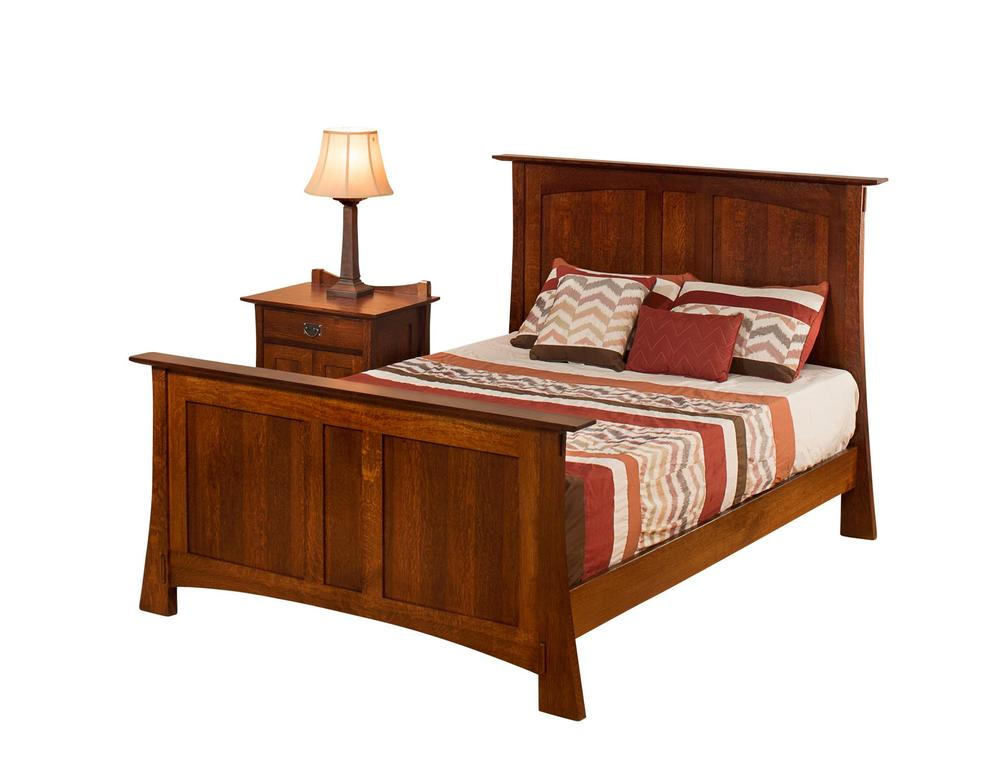 Borkholder Furniture - Panel King Bed