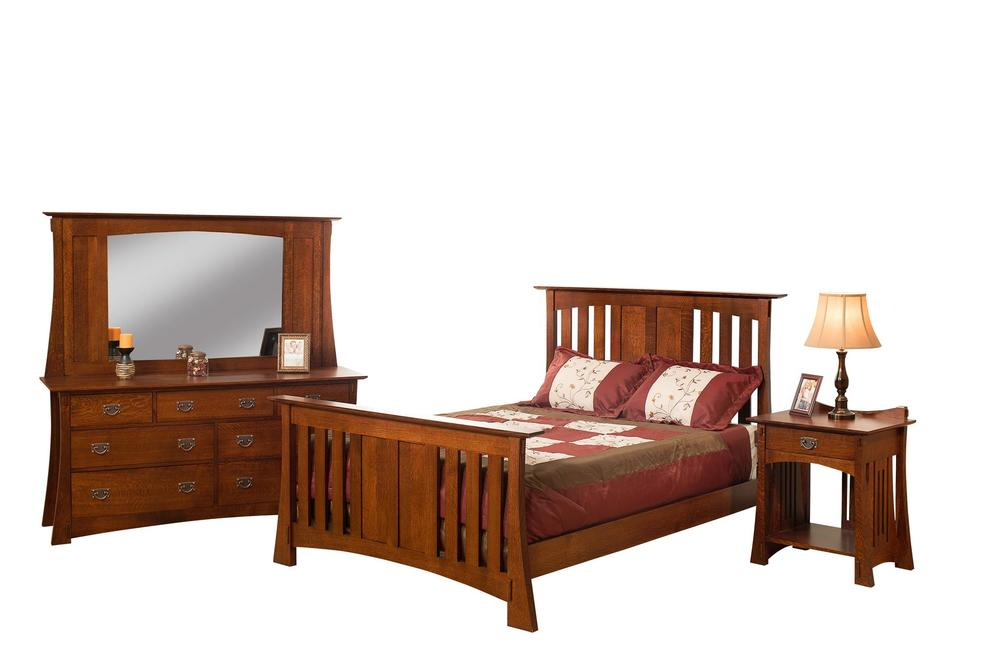 Borkholder Furniture - Slat King Bed