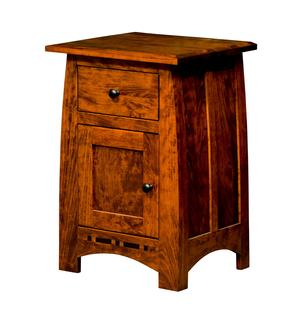 Thumbnail of Borkholder Furniture - One Drawer/One Door Nightstand