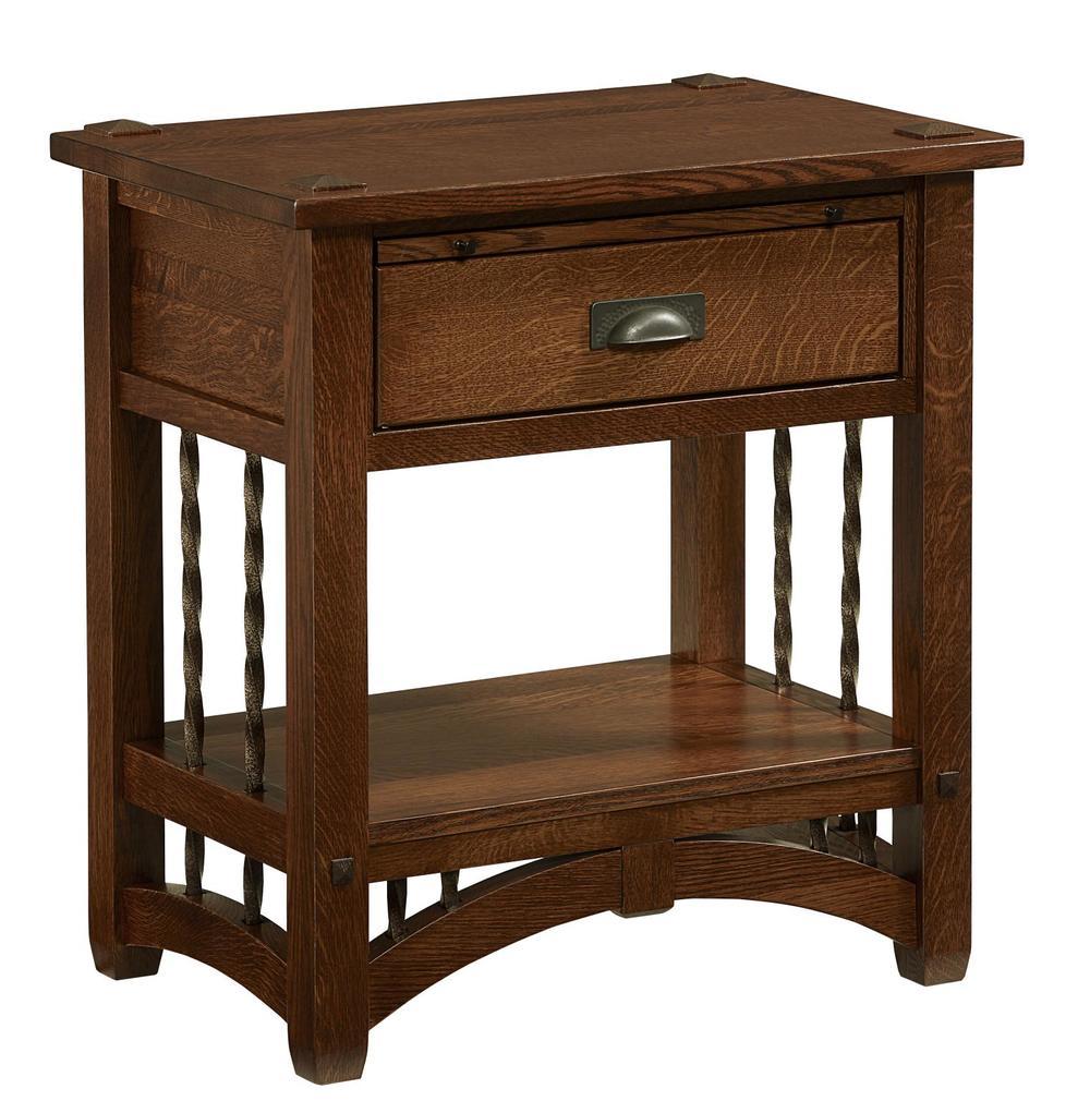 Borkholder Furniture - One Drawer Nightstand