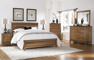Thumbnail of Borkholder Furniture - Panel King Bed