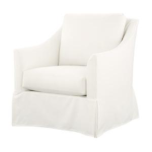 Thumbnail of Gabby Home - Baldwin Swivel Chair, Slipcovered