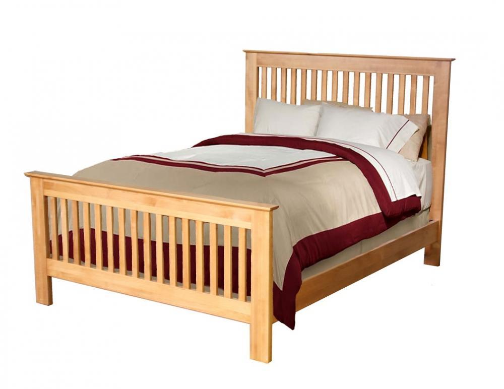 Archbold Furniture Company - Shaker Queen Slat Bed