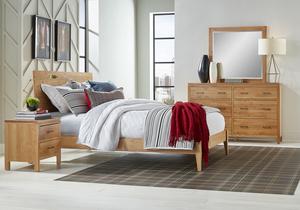Thumbnail of Archbold Furniture Company - Alder Queen Platform Bed
