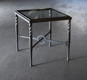 Thumbnail of Charleston Forge - Omega Square End Table