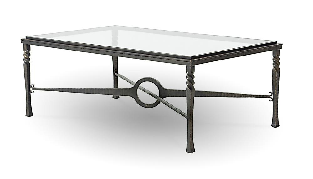 Charleston Forge - Omega Rectangular Cocktail Table