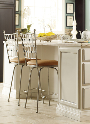 Thumbnail of Charleston Forge - Etrusche Swivel Bar Stool