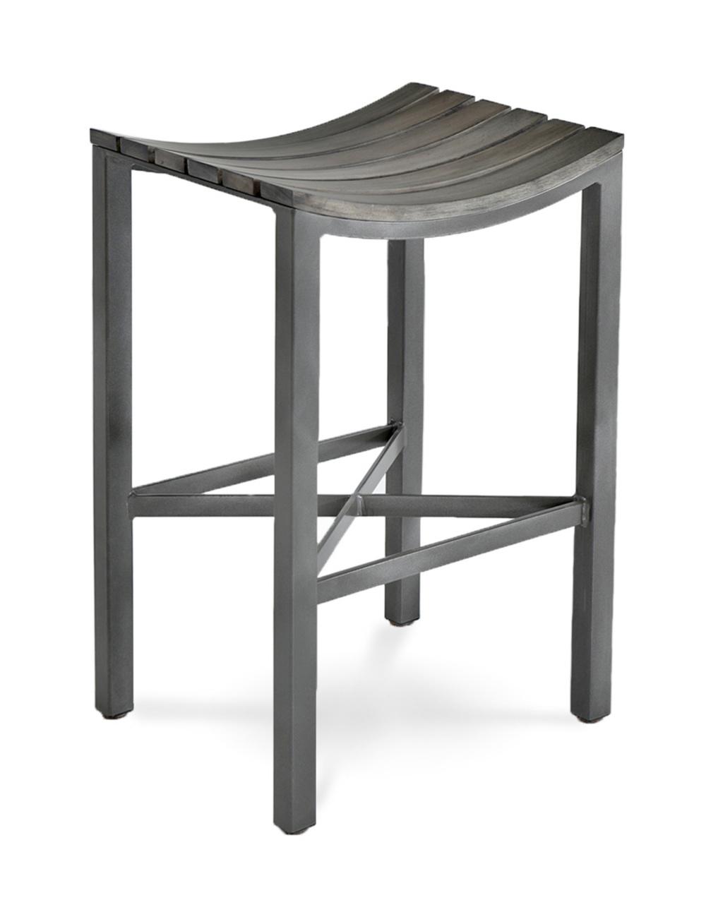 Charleston Forge - Parsons Wood Seat Bar Stool