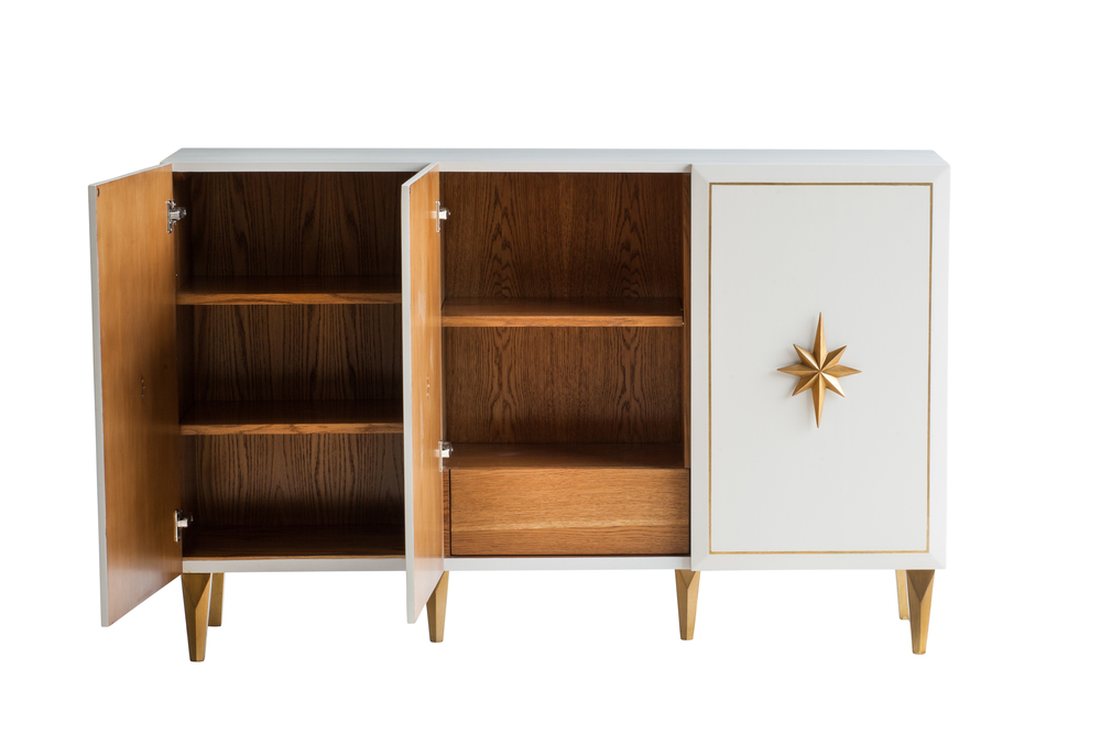 Alden Parkes - Starward Three Door Cabinet