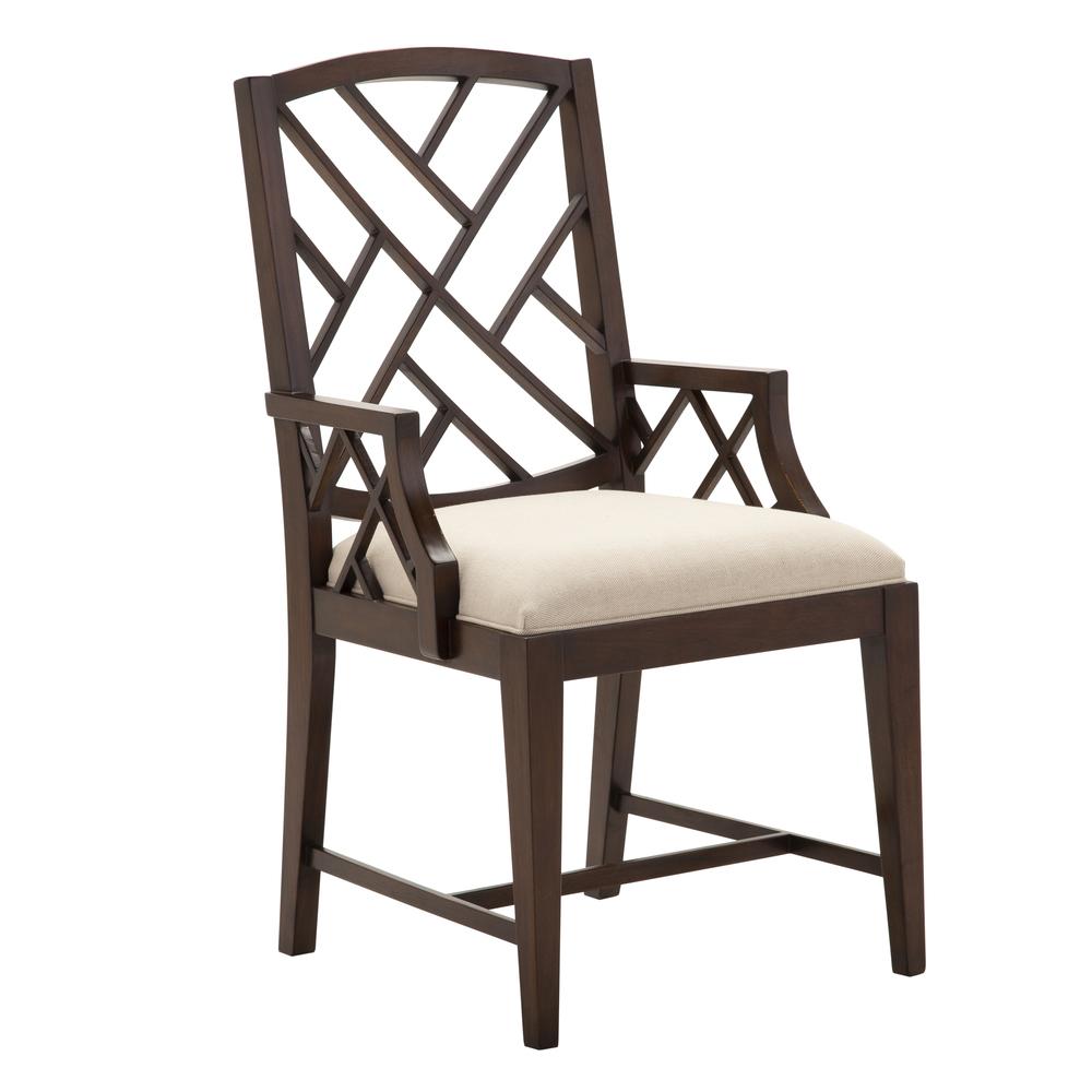 Alden Parkes - Fretwork Dining Arm Chair