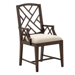 Thumbnail of Alden Parkes - Fretwork Dining Arm Chair