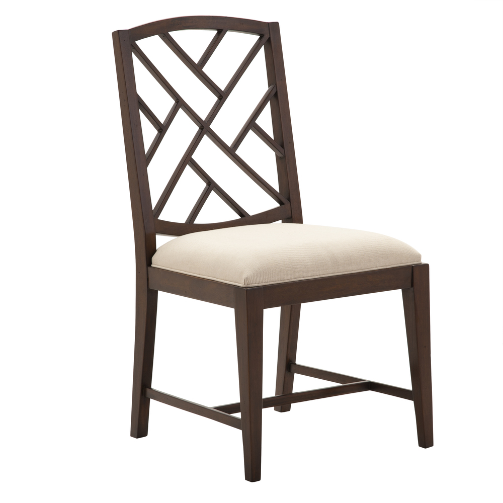 Alden Parkes - Fretwork Dining Side Chair