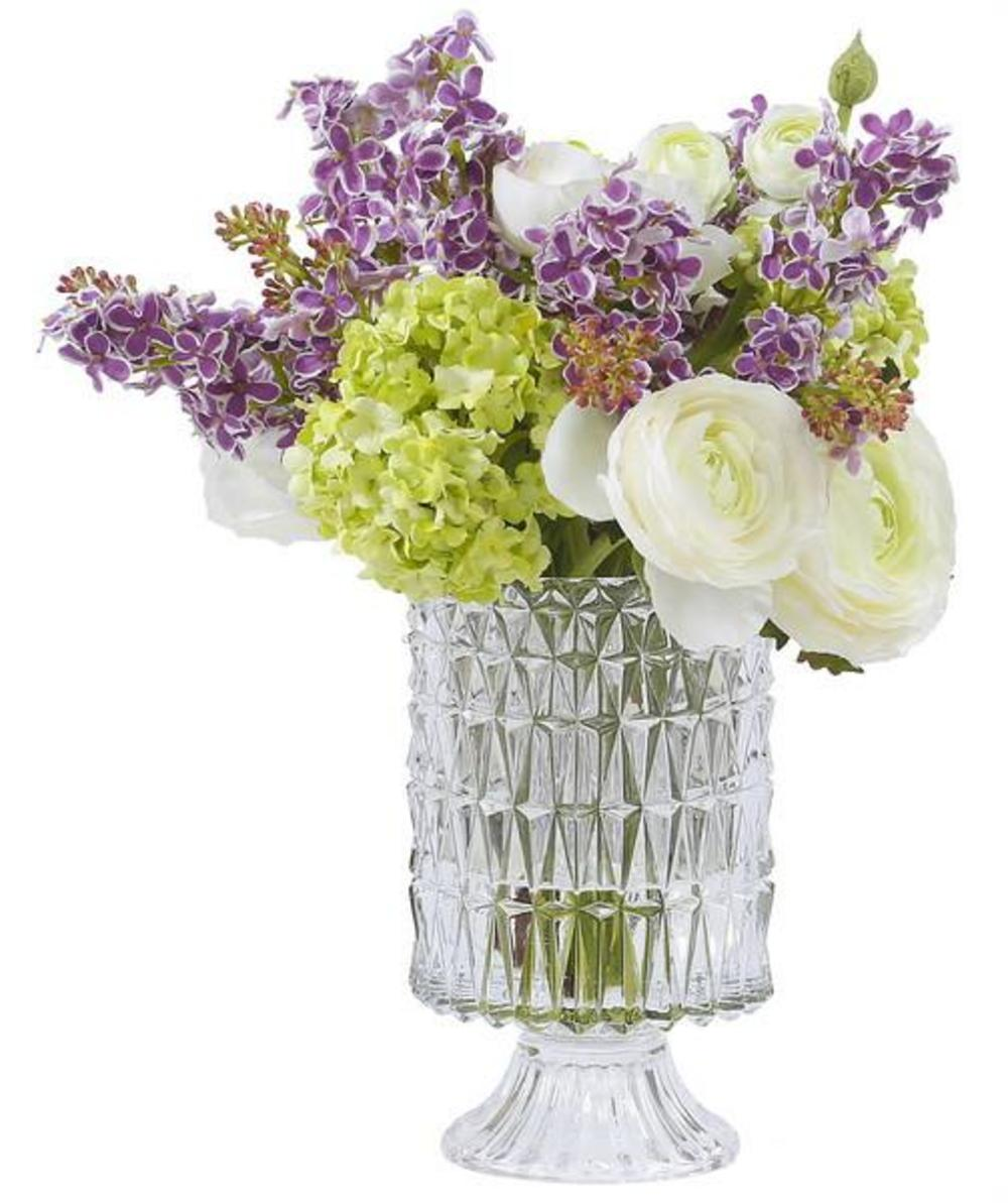 Winward - Ranunculus Lilac, Glass (Multicolor)