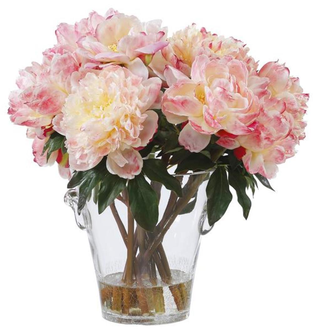 Winward - Peonies, Vase (Peach)