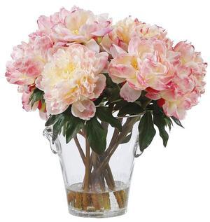 Thumbnail of Winward - Peonies, Vase (Peach)
