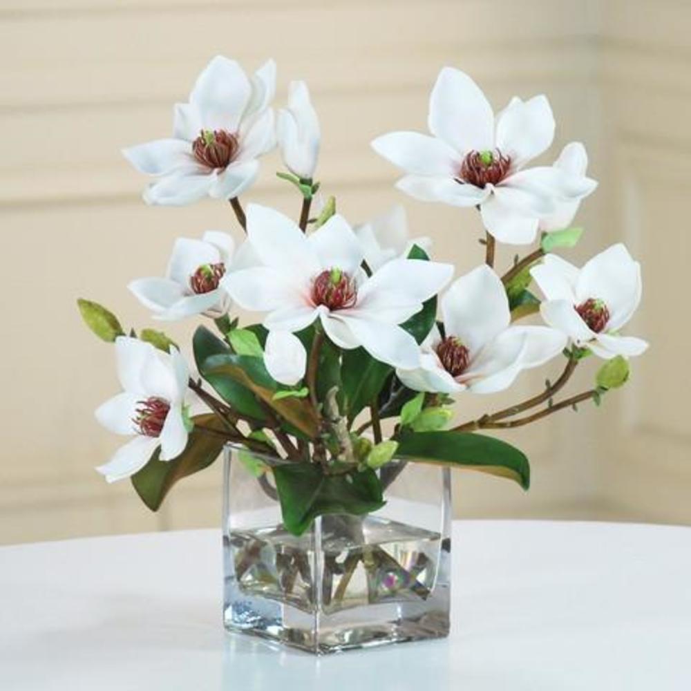Winward - Magnolia w/ Foliage Cube (White/Green)