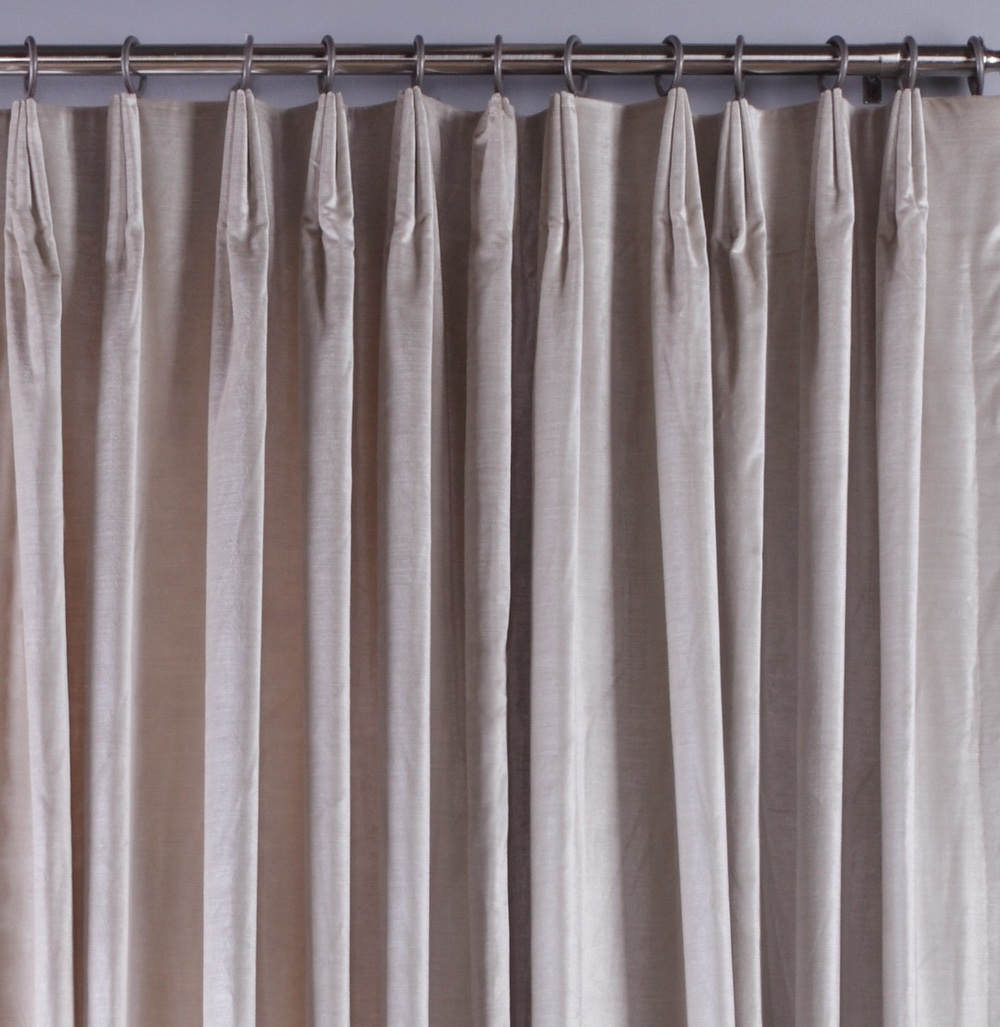 Michael Jon Designs - Euro Pleat with trim