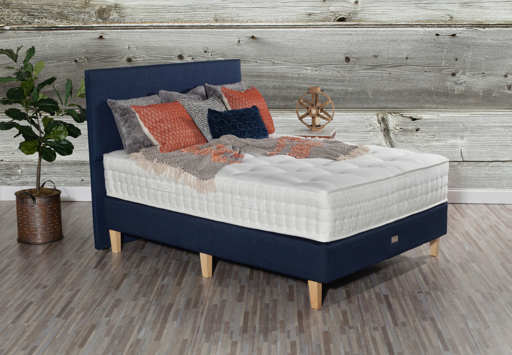 Paramount Sleep - Nature's Reign Laurel Firm Mattress with Low Profile Box Spring