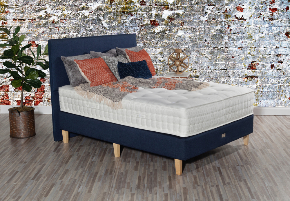 Paramount Sleep - Nature's Reign Laurel Plush Mattress with Low Profile Box Spring