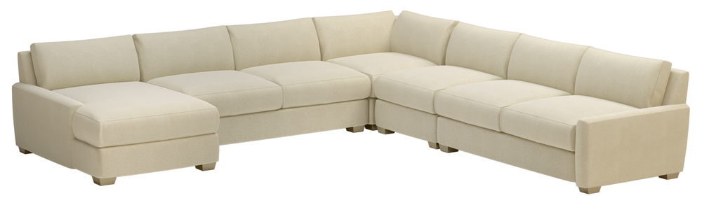 Seasonal Living - Fizz Imperial Sectional with Left Arm Facing Chaise