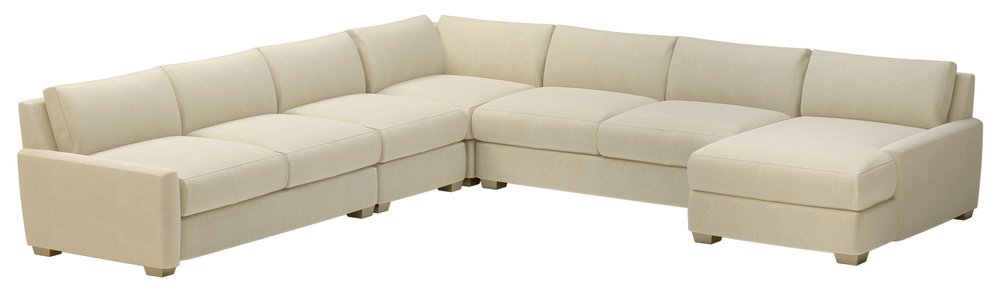 Seasonal Living - Fizz Imperial Sectional with Right Arm Facing Chaise