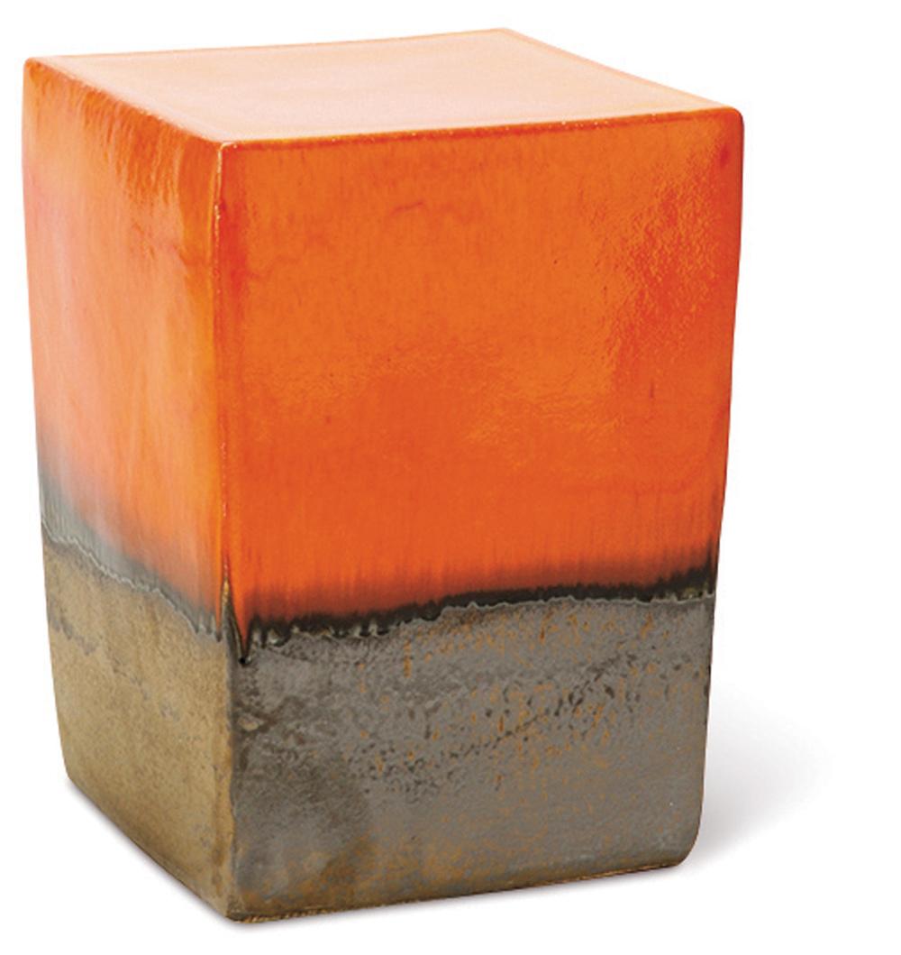 Seasonal Living - Two Glaze Square Cube