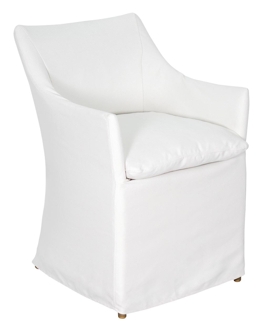 Seasonal Living - Capri Dining Chair w/ Slipcovers, Set/2