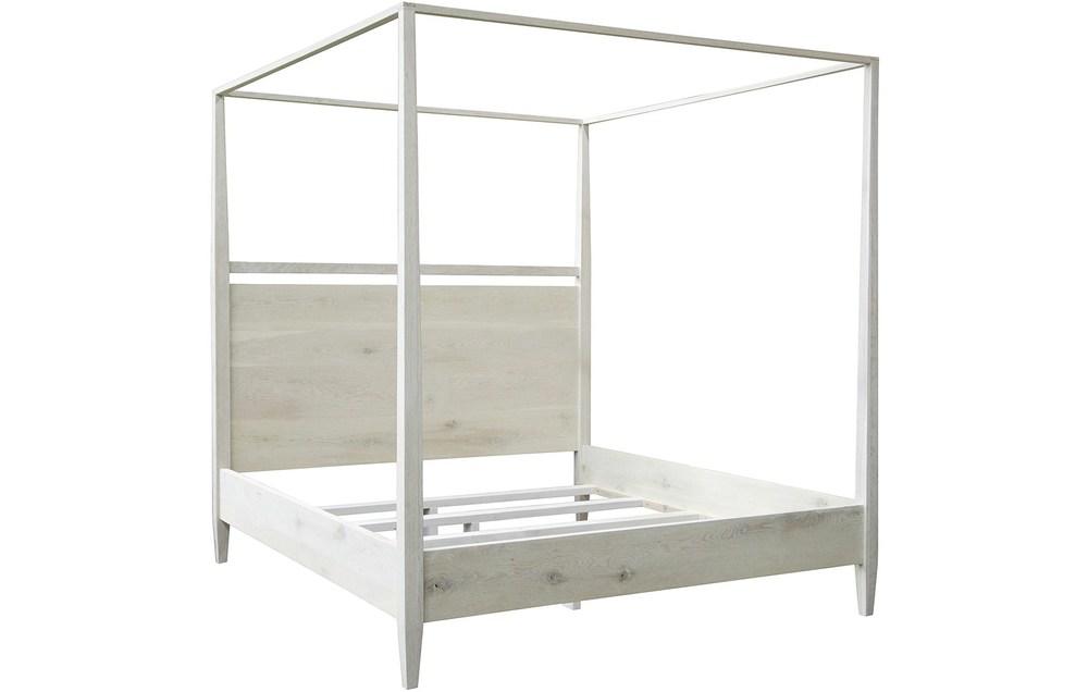 CFC - Washed Oak Modern Poster Bed