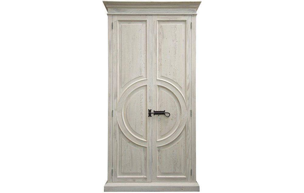 CFC - Reclaimed Lumber Circle Armoire
