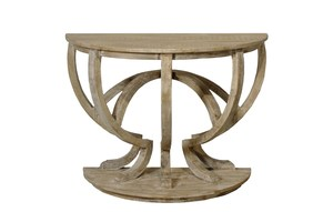 Thumbnail of CFC - Reclaimed Lumber Demilune Console Table