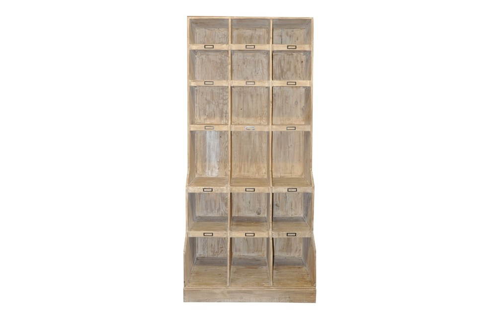 CFC - Reclaimed Lumber Wine Cabinet
